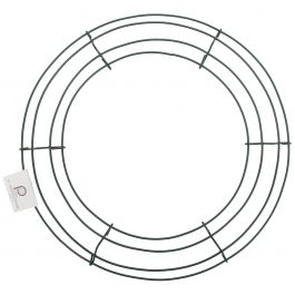 "Wire Wreath Frame 12"" - 36003"