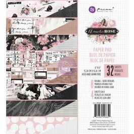 "Prima Marketing Double Sided Paper Pad 6""X6"" 32/Pkg Amelia Rose, 8 Designs/4 Each - 596651"