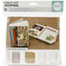 "Cinch Journal Kit 8""X9"" Covers, Pages & Wire - 62363"