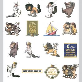 Paper House Self Adhesive Die Cuts 36/Pkg Where The Wild Things Are - STDC0020
