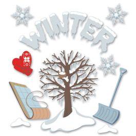 Jolee'S Boutique Dimensional Stickers Winter - SPJB482