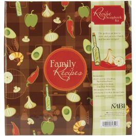 "Mbi Family Recipes 3 Ring Album Kit 5""X7"" Recipe Cards - 881850"