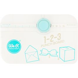 We R Memory Keepers 123 Punch Board  - 662530