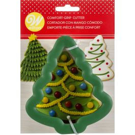 """Comfort Grip Cookie Cutter 4"""" Christmas Tree - W2310604"""