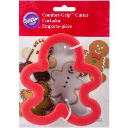 "Comfort Grip Cookie Cutter 4"" Gingerbread Boy - W2310602"