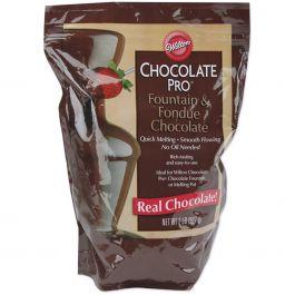 Chocolate Pro Fountain & Fondue Wafers 2Lb Chocolate - W2618