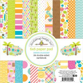 """Craft Consortium Double-sided Paper Pad 12/""""x12/"""" 40//pkg-gypsy Gypsy"""