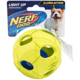 "Nerf Led Bash Ball 3.5"" Green - G2090"