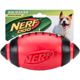 "Nerf Classic Squeak Football 7"" Red - G6998"