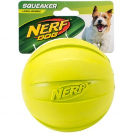 "Nerf Squeak Ball 4.25"" Green - G6999"