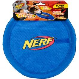 """Nerf Nylon Flyer 9"""" Blue - G7023"""
