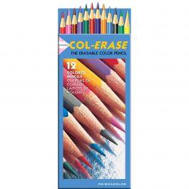 Prismacolor Col Erase Erasable Colored Pencils 12/Pkg  - 20516