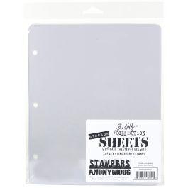Tim Holtz Storage Sheets 5/Pkg  - THSTOR