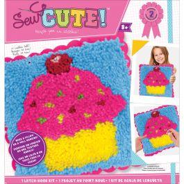 Sew Cute! Latch Hook Kit Cupcake - 73881