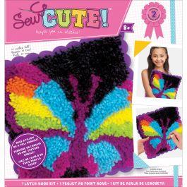 Sew Cute! Latch Hook Kit Butterfly - 73879