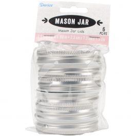 Canning Jar Lids Regular Mouth 6/Pkg  - 30005152