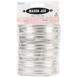 Canning Jar Lids Wide Mouth 6/Pkg  - 30005153