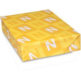 "Neenah 110Lb Classic Crest Cardstock 8.5""X11"" 250/Pkg Solar White, Msrp $.22 Per Sheet - N04456"