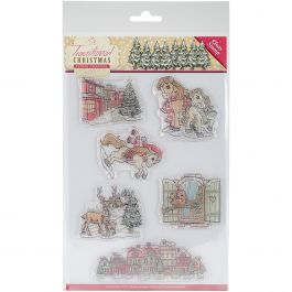 Find It Trading Yvonne Creations Clear Stamp Traditional Christmas - YCS10021
