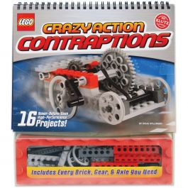 Lego(R) Crazy Action Contraptions Book Kit  - K434151