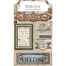 Once Upon A Lifetime Adhesive Layered Chipboard  - 7310091