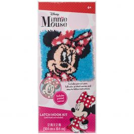"Dimensions Disney Latch Hook Kit 12""X12"" Minnie Mouse - 72-74886"