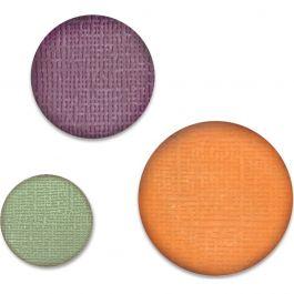 """Sizzix Paper Punch Bundle Circles, .75"""", 1"""", 1.25"""" - 662199"""