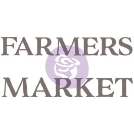 """Prima Re Design Decor Colored Transfer Farmers Market 27.5""""X17"""" - PRIMA633-103"""