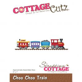"Cottagecutz Die Choo Choo Train 5""X1"" - CC298"