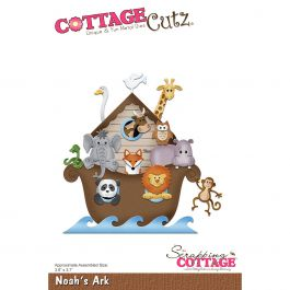 "Cottagecutz Die Noah'S Ark 3.6""X3.7"" - CC304"