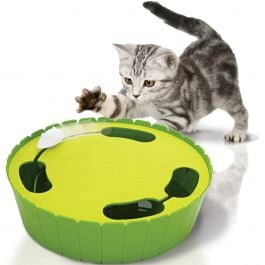 Cat Life Electronic Burrow Mouse Toy Hide & Seek - CAT701