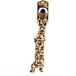 "Multipet Dawdler Dudes Floppy Plush Toy 20"" Leopard - 48145"