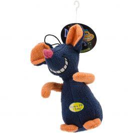 """Multipet Deedle Dudes Plush Toy 8"""" Mouse - 22341"""