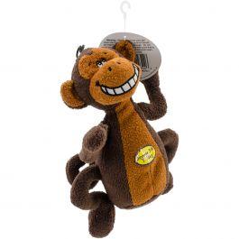 "Multipet Deedle Dudes Plush Toy 8"" Monkey - 22344"