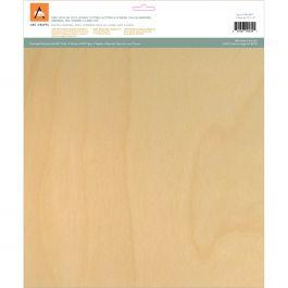 "Barc Wood Sheet W/Adhesive Backing 12""X12"" White Birch - ARCBS71"