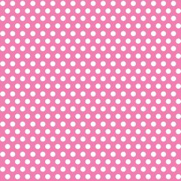 """Decorative Dots Gift Wrap 30""""X5' Roll Hot Pink - DOTGW-43239"""