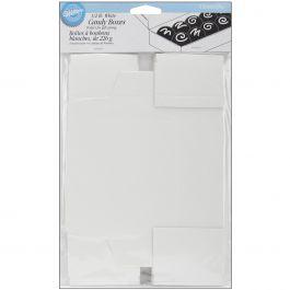 Candy Boxes White .5Lb 3/Pkg - W1150