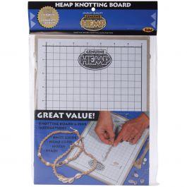 """Hemp Knotting Board 11""""X8.625""""X.5"""" - 85076"""