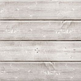 "Jillibean Soup Mix The Media Wooden Plank 12""X12"" Weathered White - JB0989"