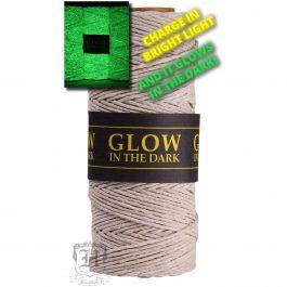 Hemp Cord 20Lb 205' Glow In The Dark - 20NATGLO