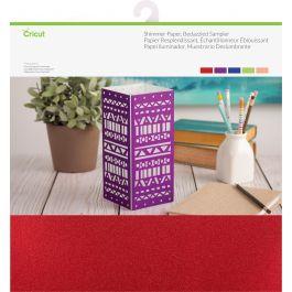 "Cricut Shimmer Paper Sampler 12""X12"" Bedazzled Assorted - 2004050"