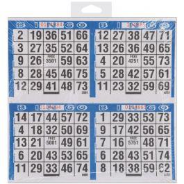 "Primo Bingo Game Sheets 8""X8"" 125/Pkg 500 Games - 77735"