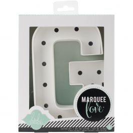 "Heidi Swapp Marquee Love Letters, Numbers & Shapes 8.5"" G - HSMAR-9086"