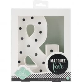 "Heidi Swapp Marquee Love Letters, Numbers & Shapes 8.5"" Ampersand - HSMAR-9106"