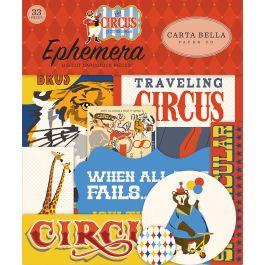 Circus Ephemera Cardstock Die-Cuts 33/Pkg-Icons