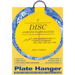 "Invisible Plate Hanger 3"" For Plates Up To 8"" Diameter - DPH3"
