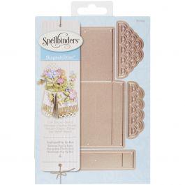 Spellbinders Shapeabilities Dies Scalloped Pop Up Box - S5233