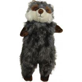 "Spot Furzz Plush Dog Toy 13.5"" Raccoon - 543-27"