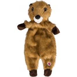 "Spot Furzz Plush Dog Toy 20"" Beaver - FURZZ-54333"