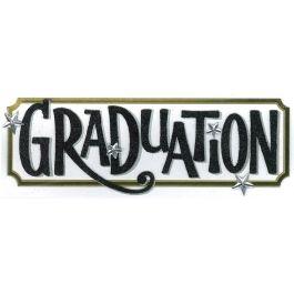 Jolee'S Boutique Title Waves Dimensional Stickers Graduation Tag - E5060154